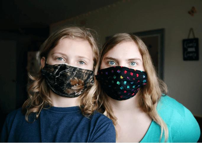 acessório-da-moda-máscaras