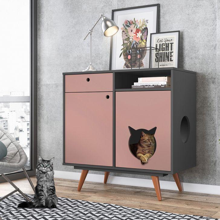 aparador para gatos