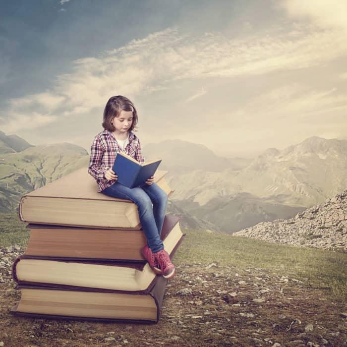 As vantagens de ler livros   Familia