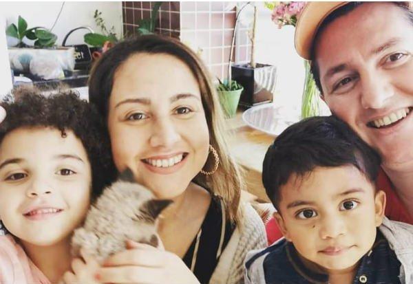 Com a chegada dos filhos, Andreia e Rodrigo se sentiram completos. Foto: Rodrigo Dorini