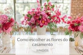 Como escolher as flores do meu casamento em 5 passos