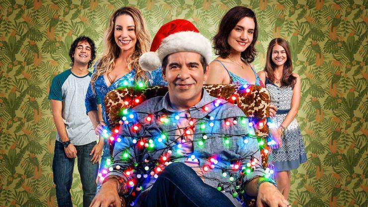 Slide 19 de 20: Este filme, dirigido por Roberto Santucci e protagonizado por Leandro Hassum, está entre os mais vistos no mundo. Produzido pela Netflix, conta como um homem que odeia Natal acorda em uma espécie de bucle da mesma data.