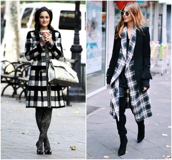 estampa xadrez moda outono inverno