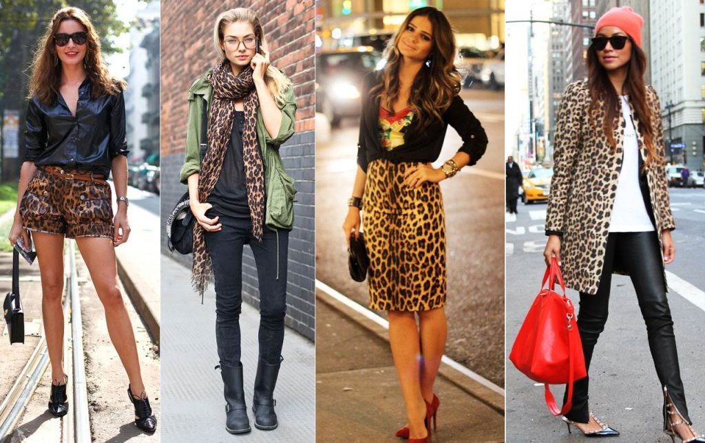 moda outono inverno estampa animal print