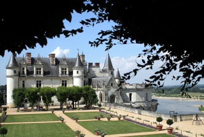 Castelo Real de Amboise, a 225 km de Paris, aproximadamente (foto: Eduardo Vessoni)