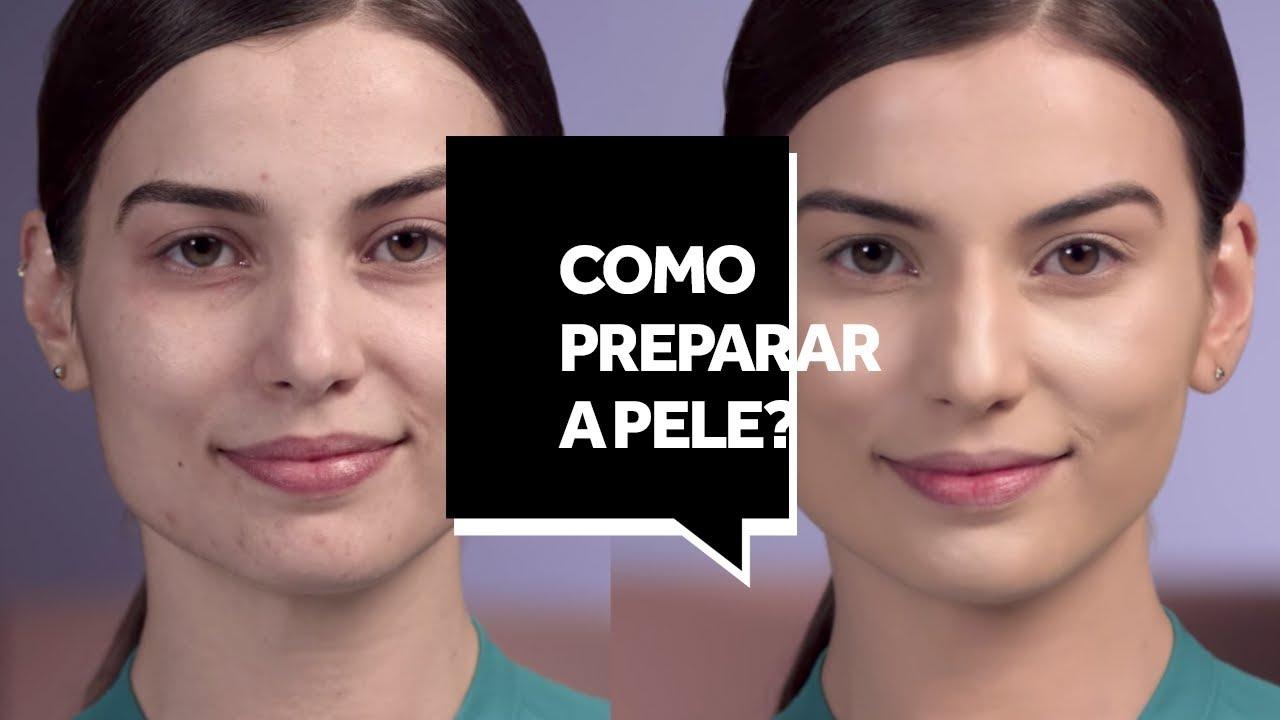 Como preparar a pele antes da maquiagem?