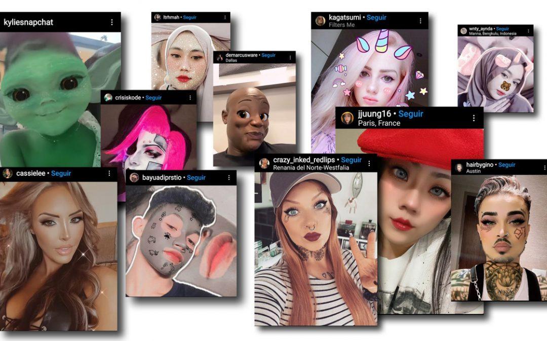 Os filtros do Instagram que ajudam a escapar dos limites do mundo físico.
